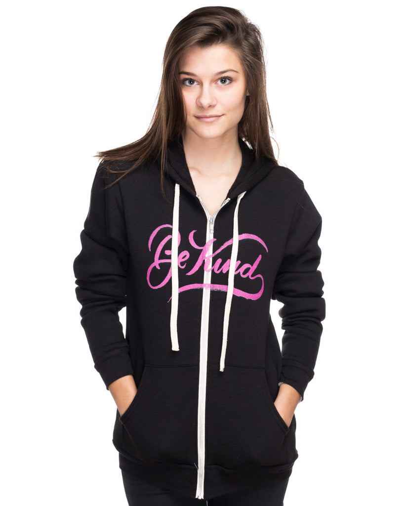 Be Kind Womens Hoodie