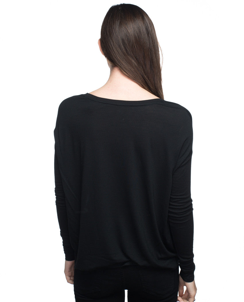beYOUtiful Flowy Long Sleeve Tee