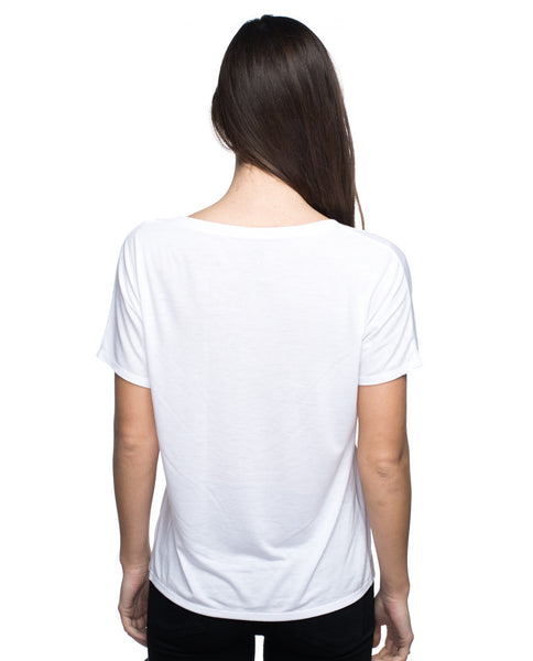 beYOUtiful Flowy Simple V Neck