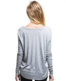 Beauty Flowy Long Sleeve Tee