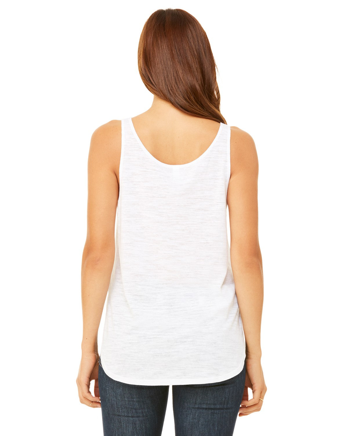 HOPE Blueberry Women's Premium Side Split Flowy Tank