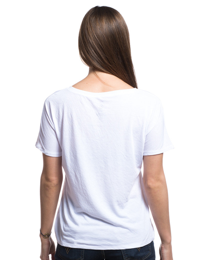 Song Bird of Freedom Flowy V Neck