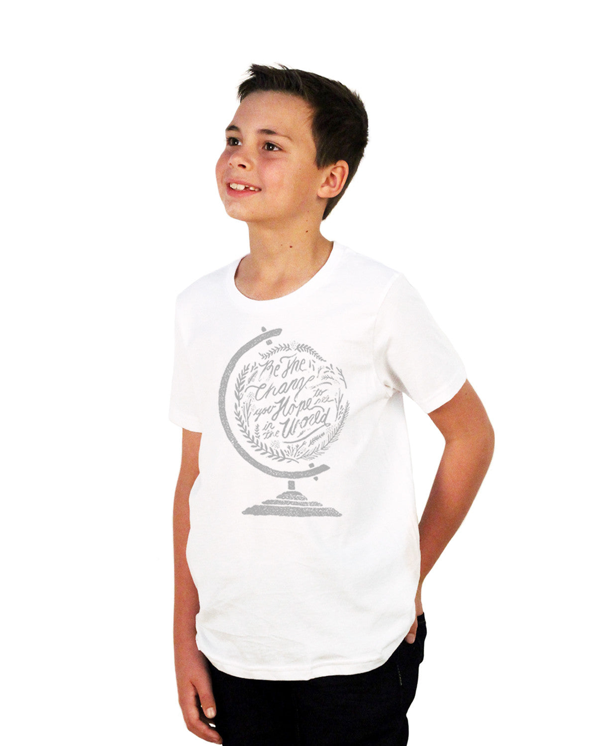 Be The Change Youth Short Sleeve Tee