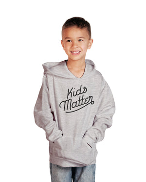 Kids Matter Youth Midweight Pullover Hooded Sweatshirt