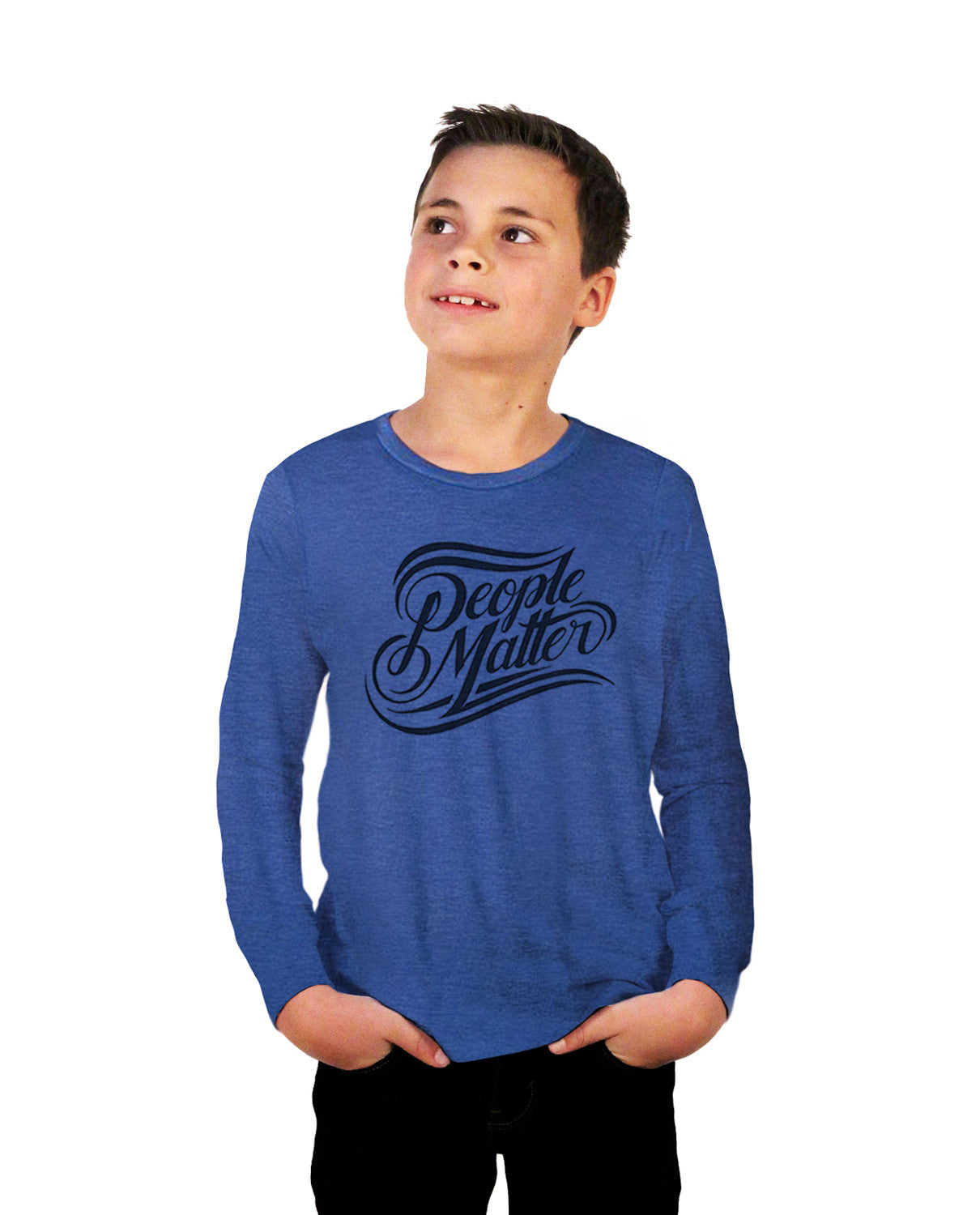 People Matter Youth Jersey Long Sleeve Tee