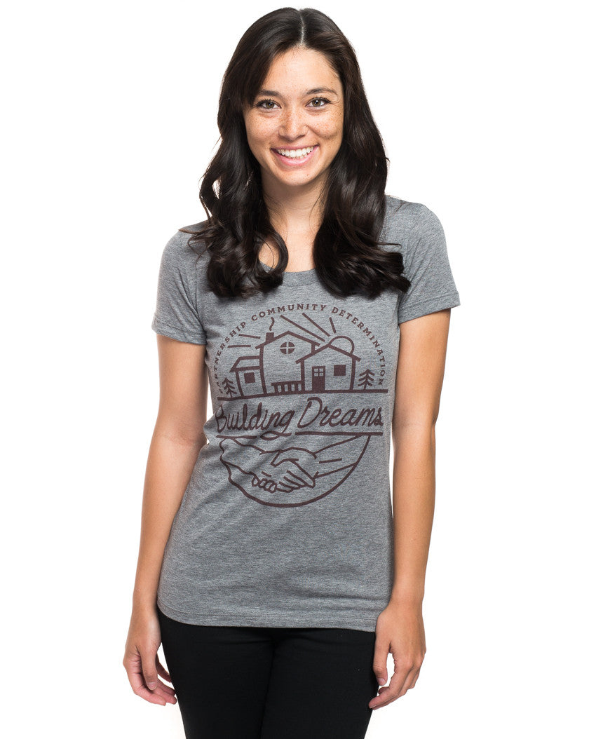 Building Dreams Triblend Short Sleeve Tee