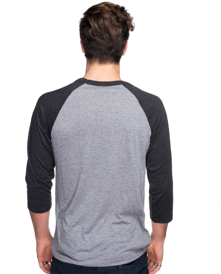 Carpe Diem Mens Baseball Tee
