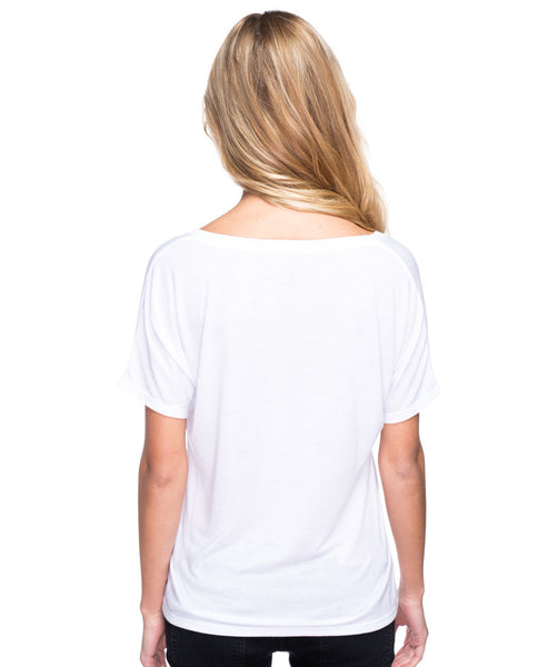 Carpe Diem Flowy V Neck
