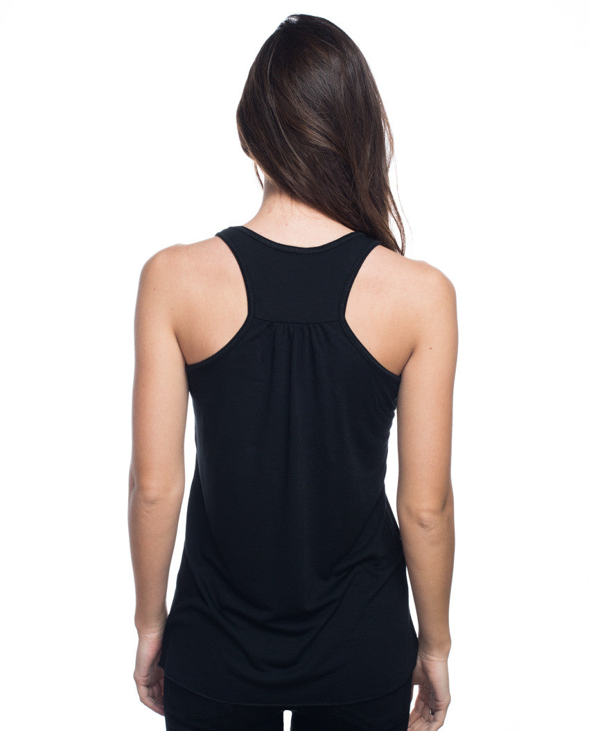 Fierce Minds Flowy Racerback Tank