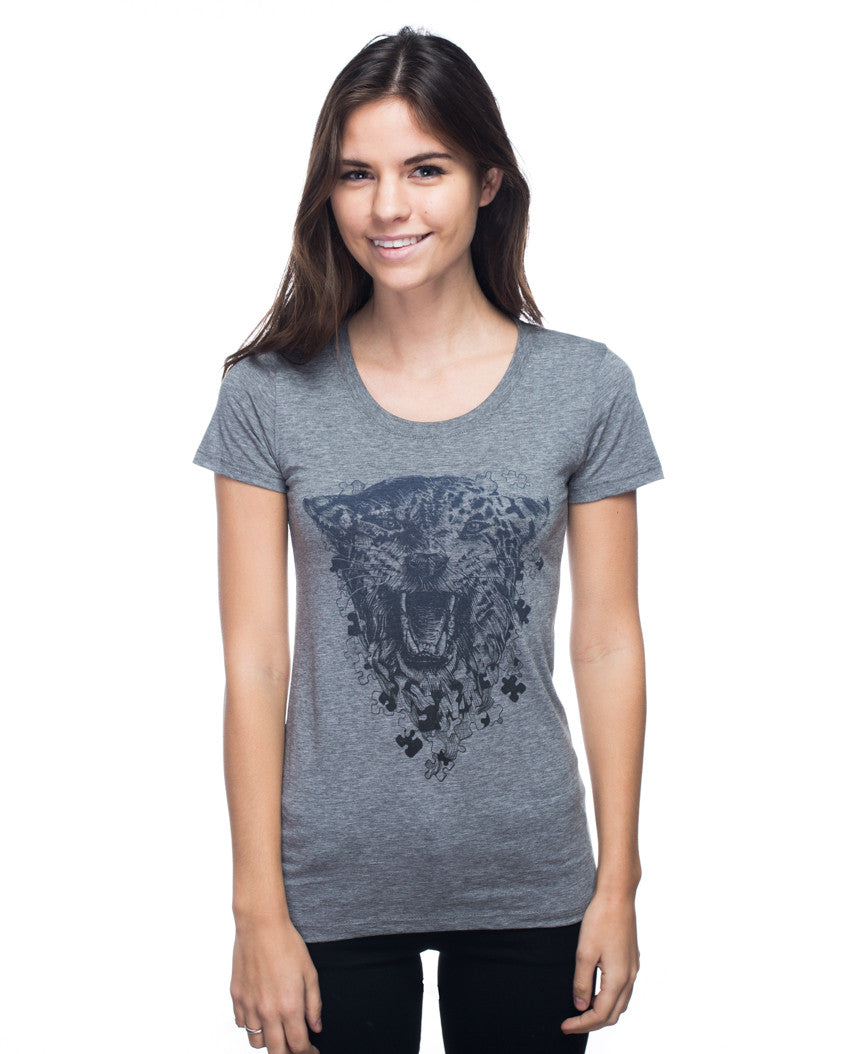 Fierce Minds Triblend Short Sleeve Tee