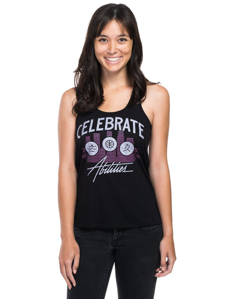 Celebrate Abilities Flowy Racerback Tank