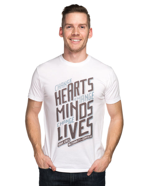 Change Hearts Change Minds Tee