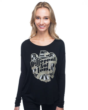 Different Not Less Flowy Long Sleeve Tee