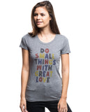 Great Love Triblend Short Sleeve Tee