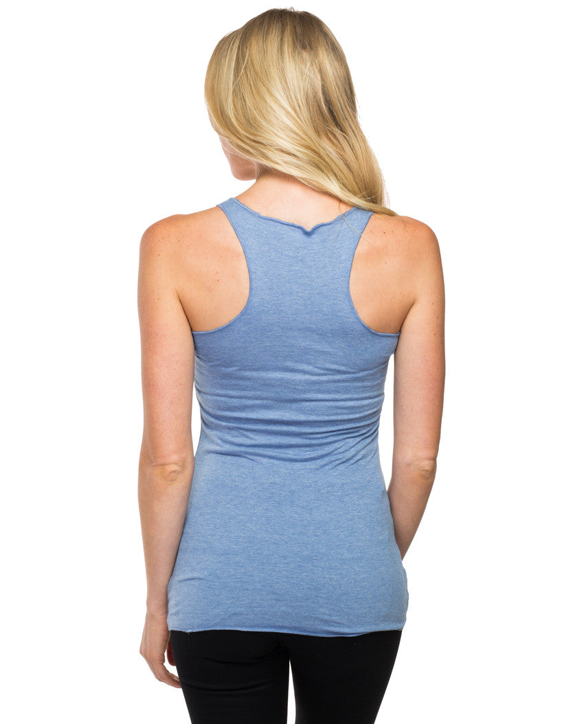 Free To Learn Triblend Racerback Tank