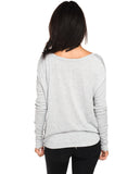 Strong Hearts Fierce Minds Flowy Long Sleeve Tee