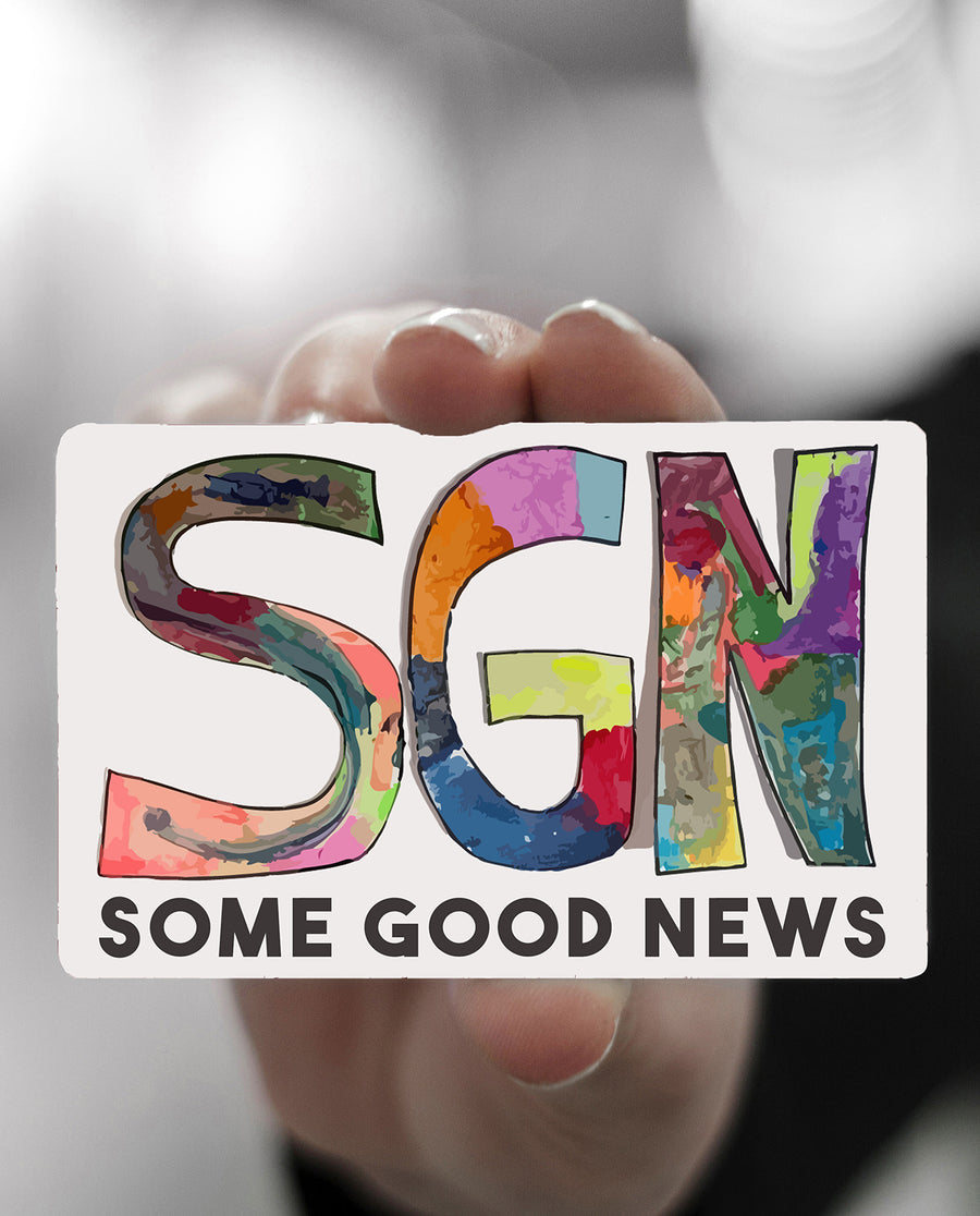 SGN Some Good News Gift Card