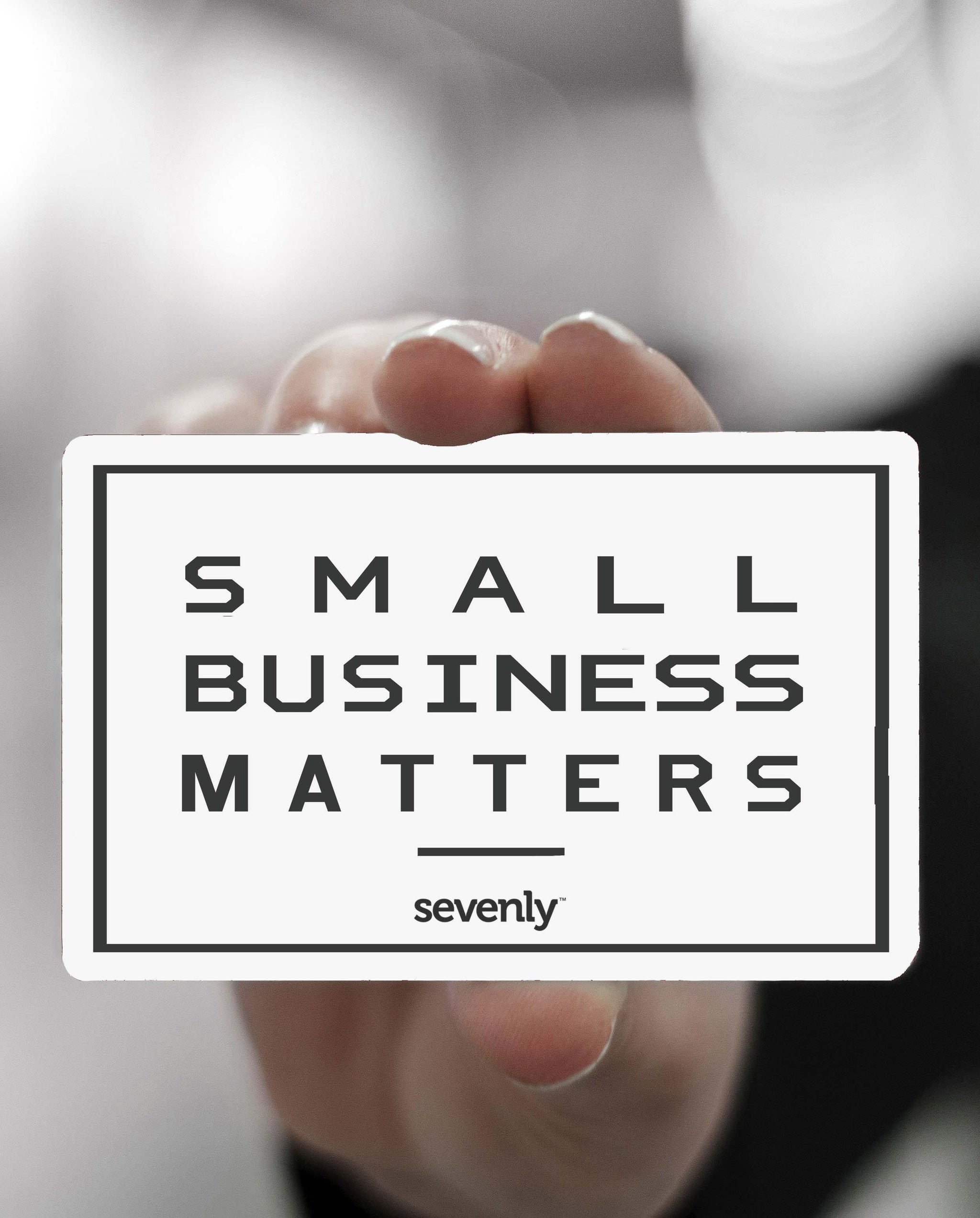 Sevenly Small Business Matters Gift Card
