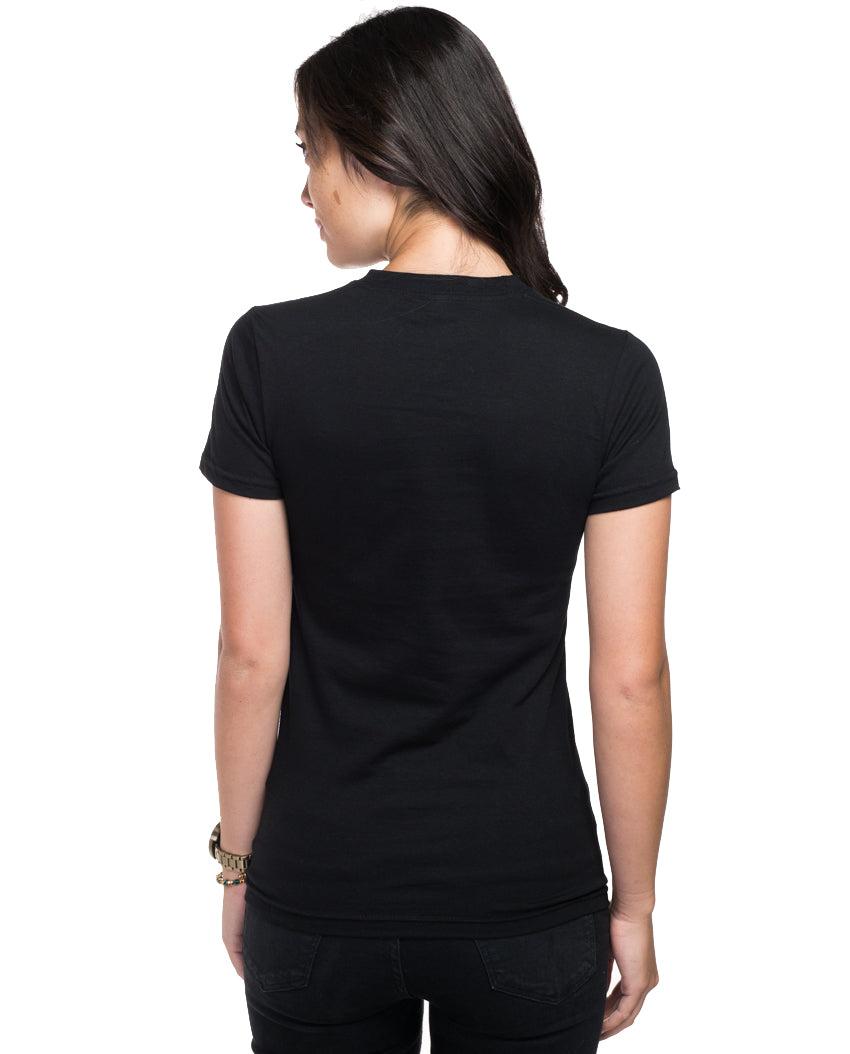 Beauty and Strength Women's Black Premium Short Sleeve Tee