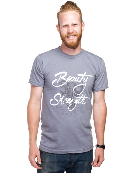 Beauty and Strength Fitted Tee