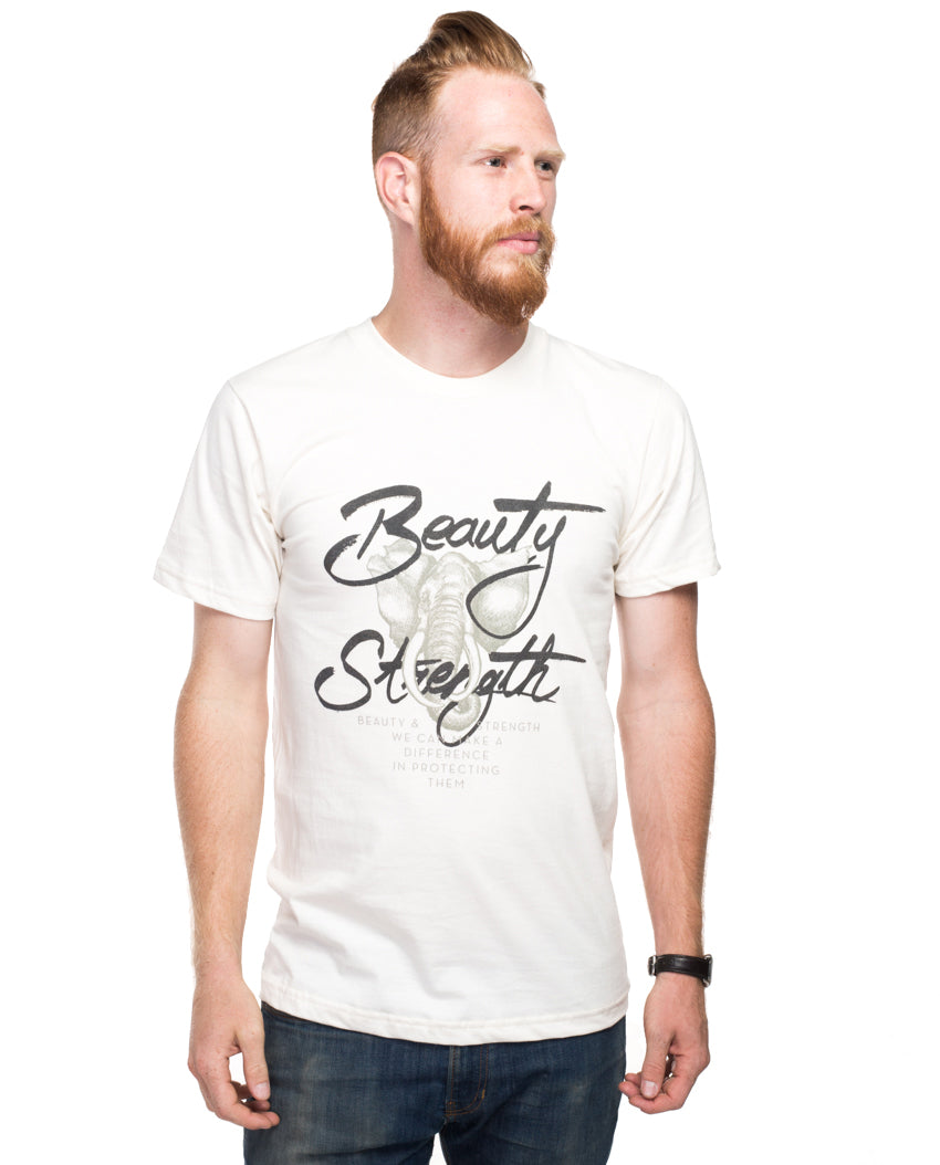 Beauty and Strength Men's Unisex Premium Short Sleeve Tee