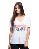 Do Everything In Love Flowy V Neck