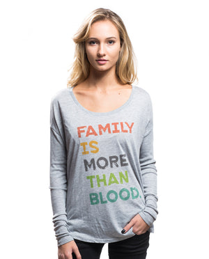 More Than Blood Flowy Long Sleeve Tee