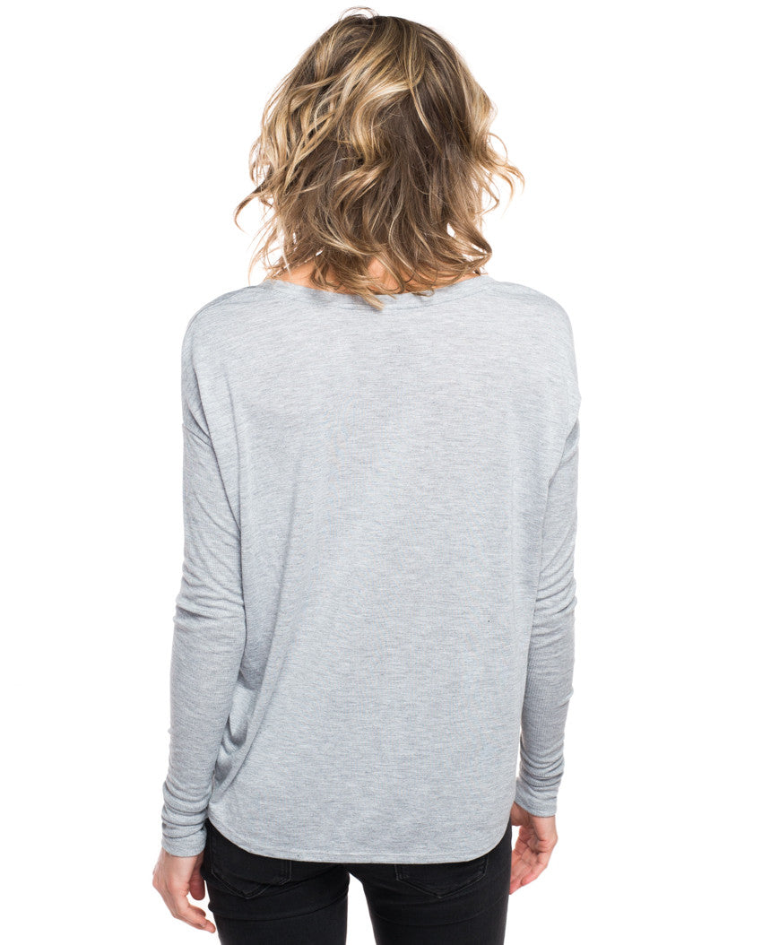 Barn Animals Flowy Long Sleeve Tee