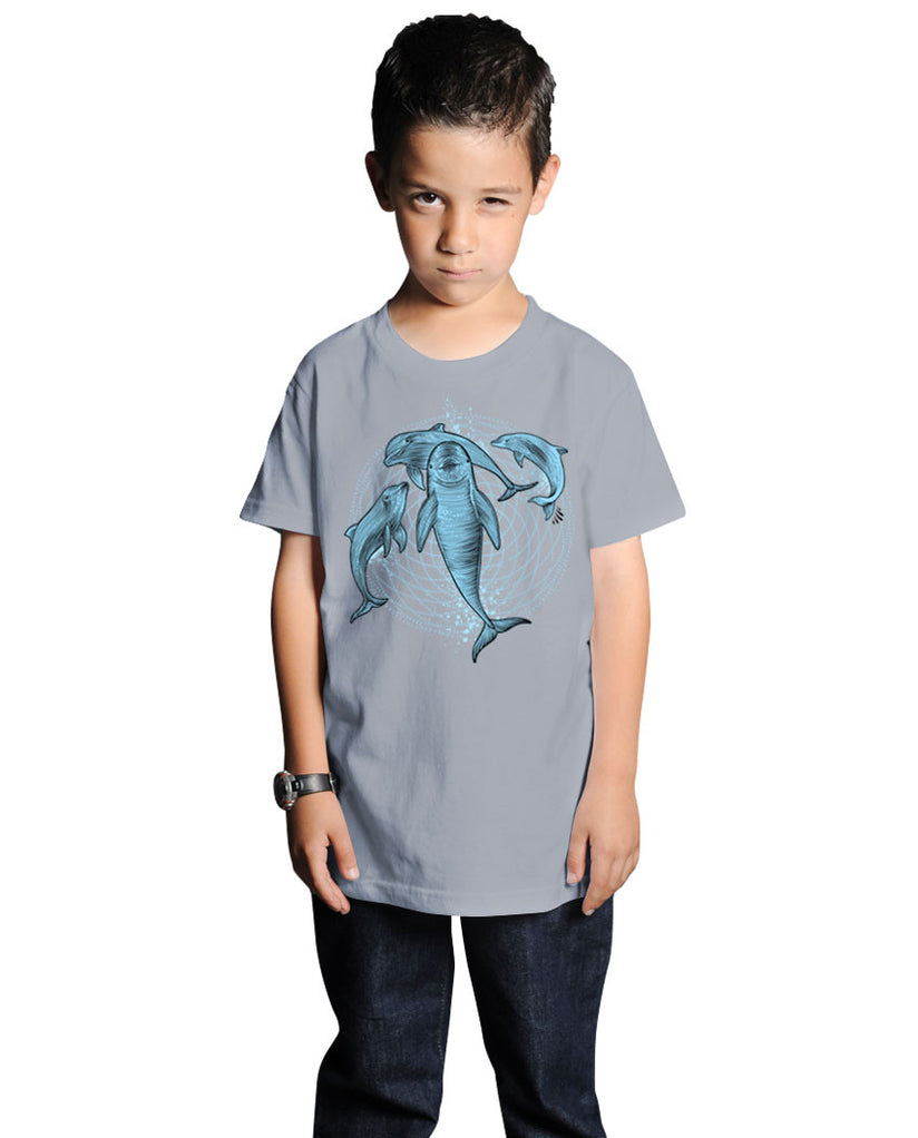 Dolphins Short Sleeve Youth Tee