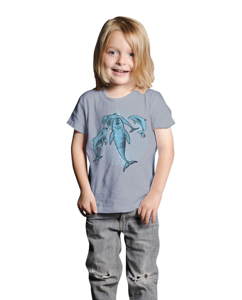 Dolphins Short Sleeve Kids Tee