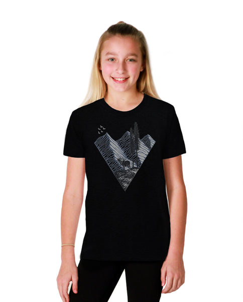 Elk Mountain Youth Short Sleeve Tee