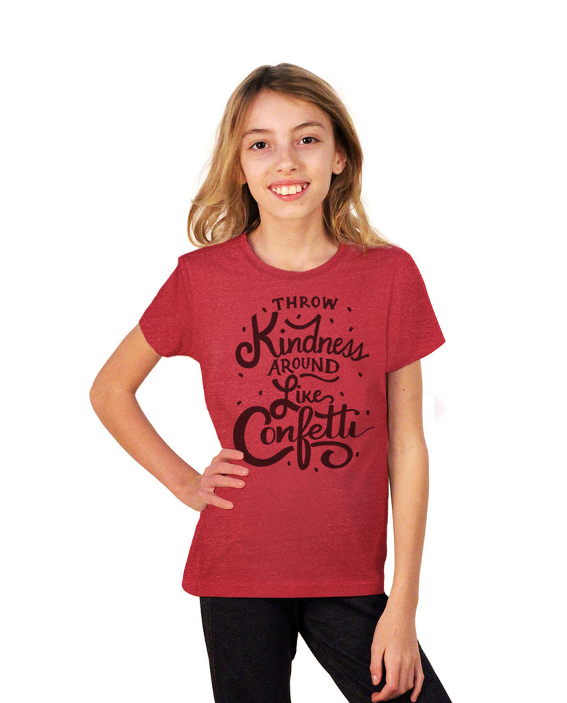 Throw Kindness Around Youth Short Sleeve Tee