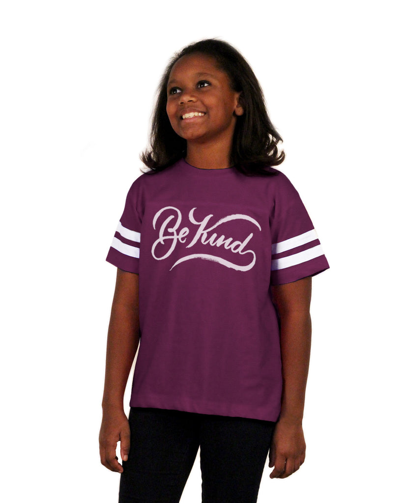 Be Kind Youth Football Tee