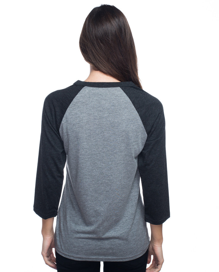 Giving Back is the New Black Womens Baseball Tee