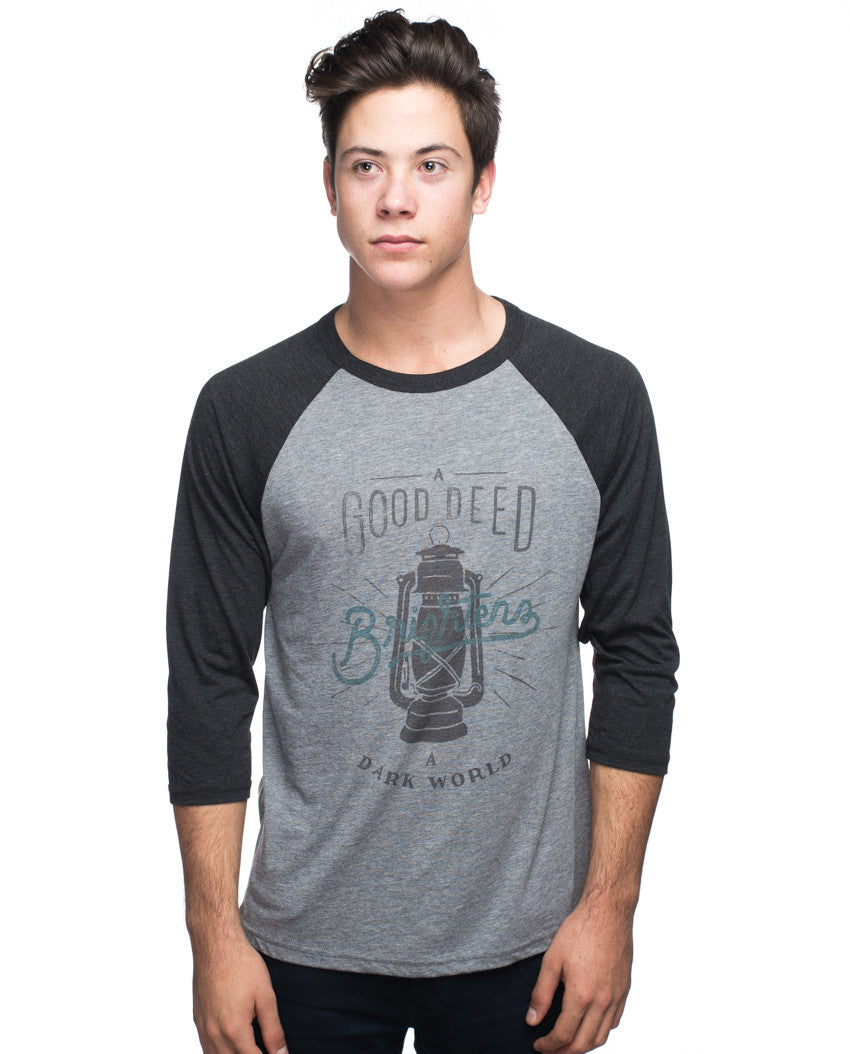 Good Deed Mens Baseball Tee