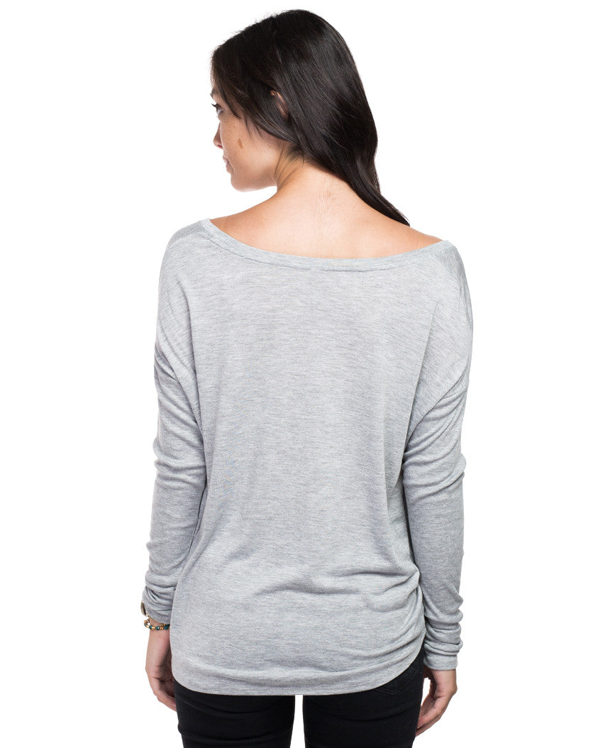 Make a Difference Flowy Long Sleeve Tee