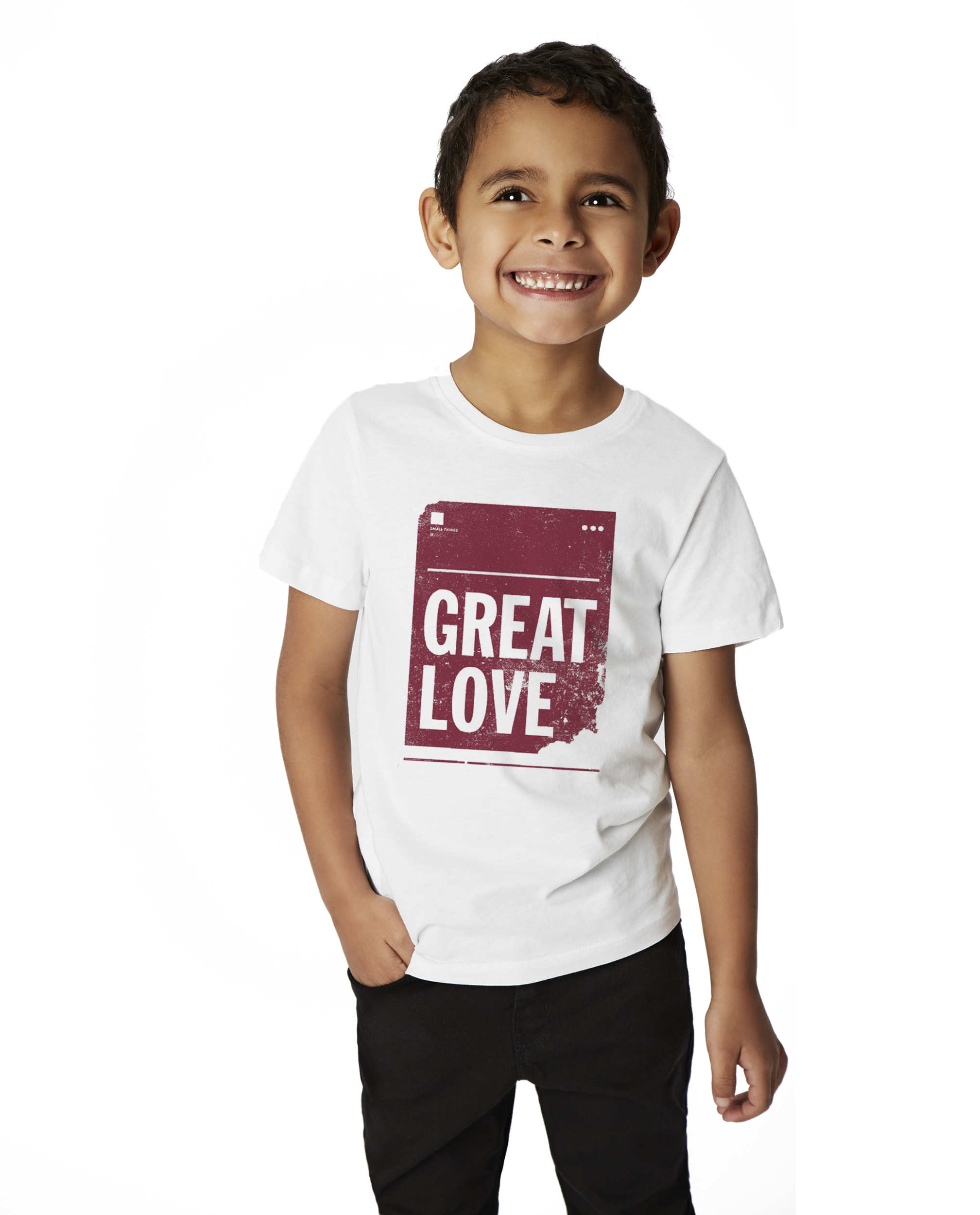 Great Love Youth Short Sleeve Tee