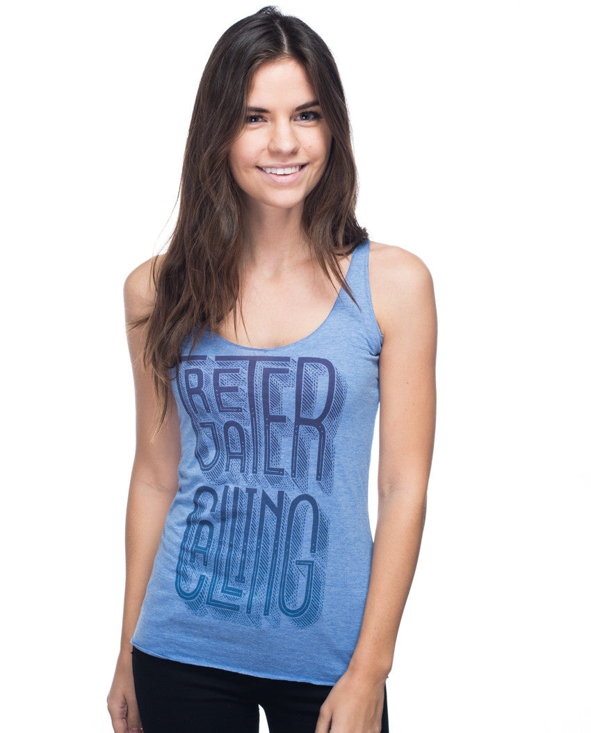 Greater Calling Triblend Racerback Tank