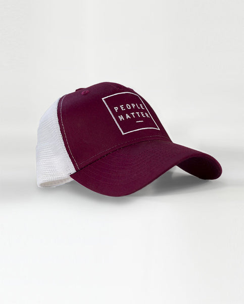 PEOPLE MATTER Trucker Cap