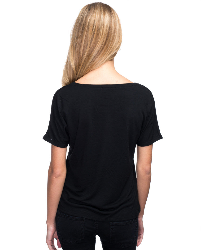 In The Heart Women's Flowy V Neck