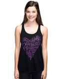 In The Heart Flowy Racerback Tank