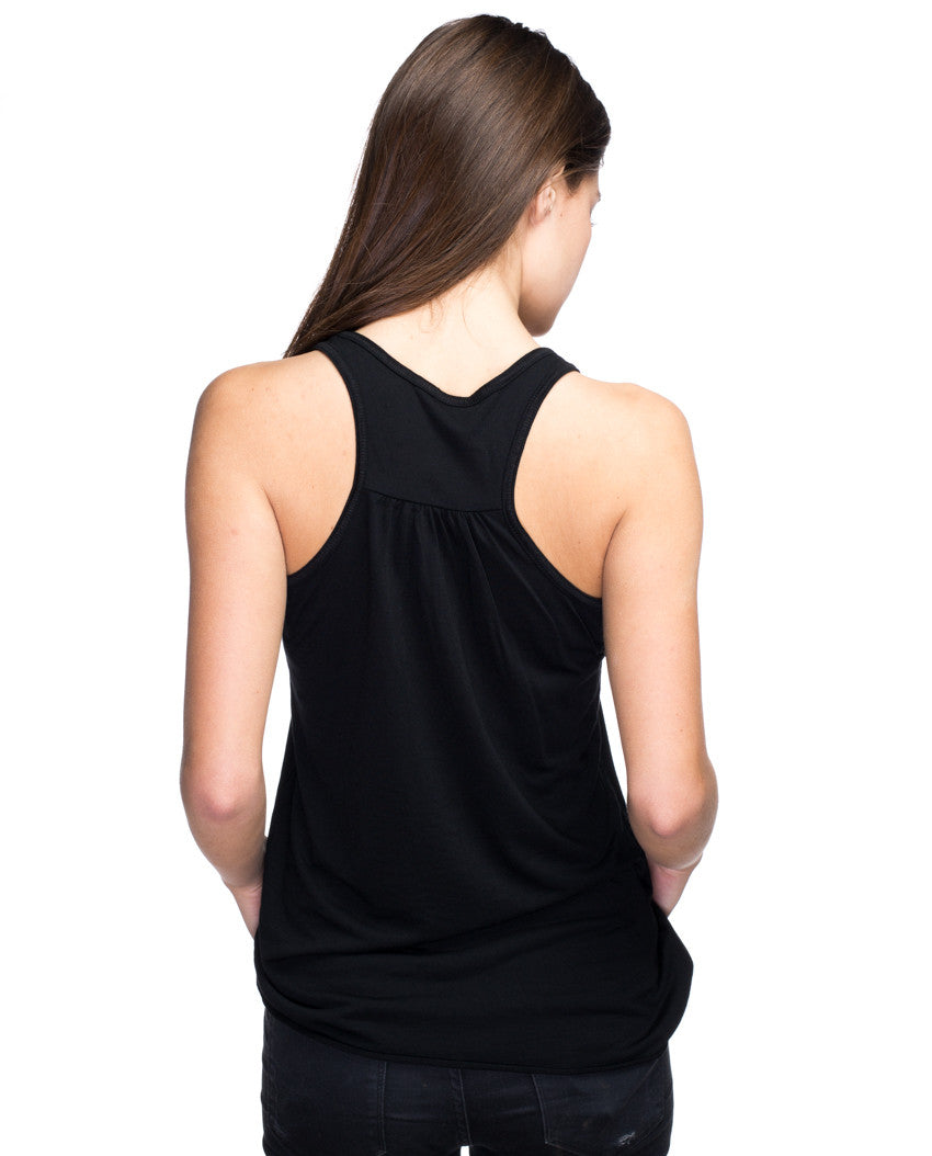 In The Heart Womens Triblend Racerback Tank