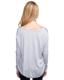 In The Heart Flowy Long Sleeve Tee