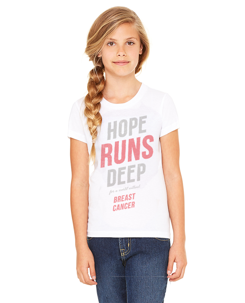 HOPE RUNS DEEP CLASSIC TEE FOR THE FAMILY