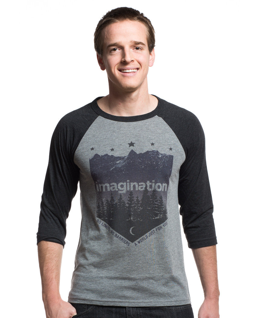 Imagination Mens Baseball Tee