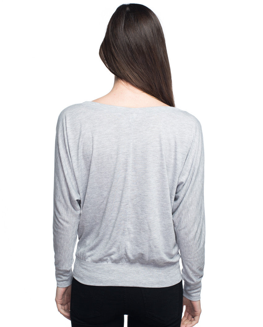 Intentional Flowy Long Sleeve Tee