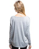 It's Weird Flowy Long Sleeve Tee