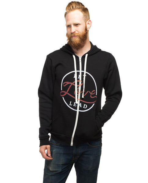 Let Love Lead Mens Hoodie
