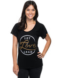 Let Love Lead Flowy Raglan