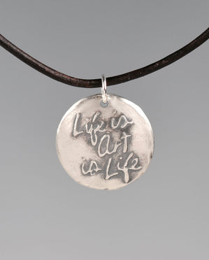 Life Is Art Aquilla Sterling Silver Totem